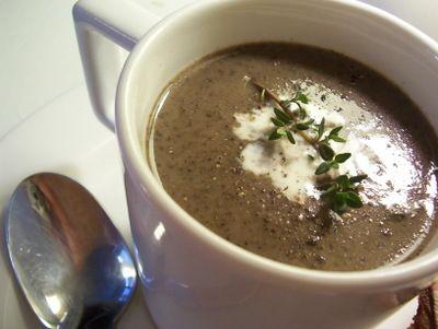 Creamy Mushroom Soup | Num-Nums | Pinterest