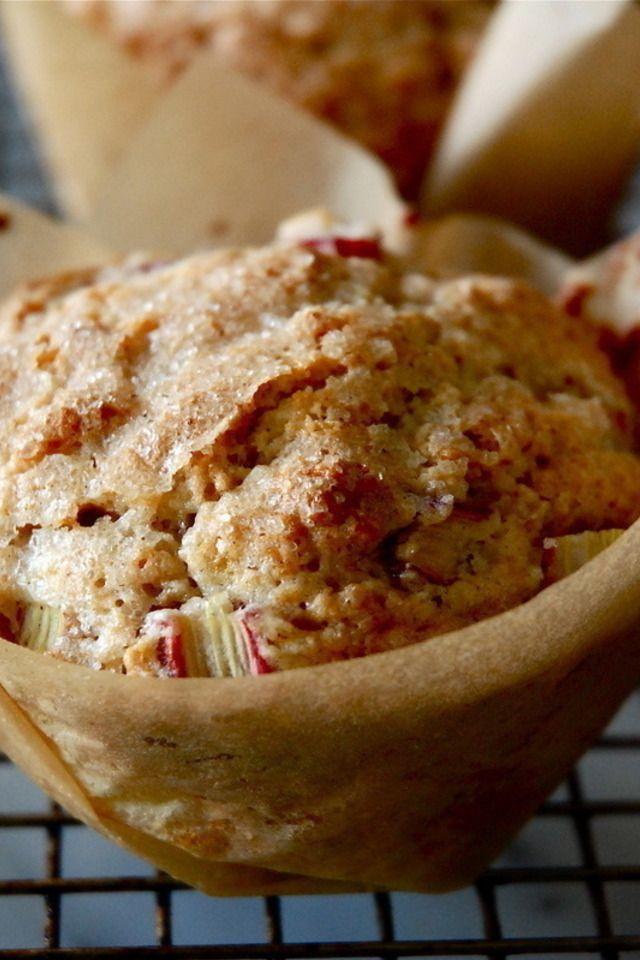 Rhubarb Cardamom Breakfast Muffins | Cardamom | Pinterest