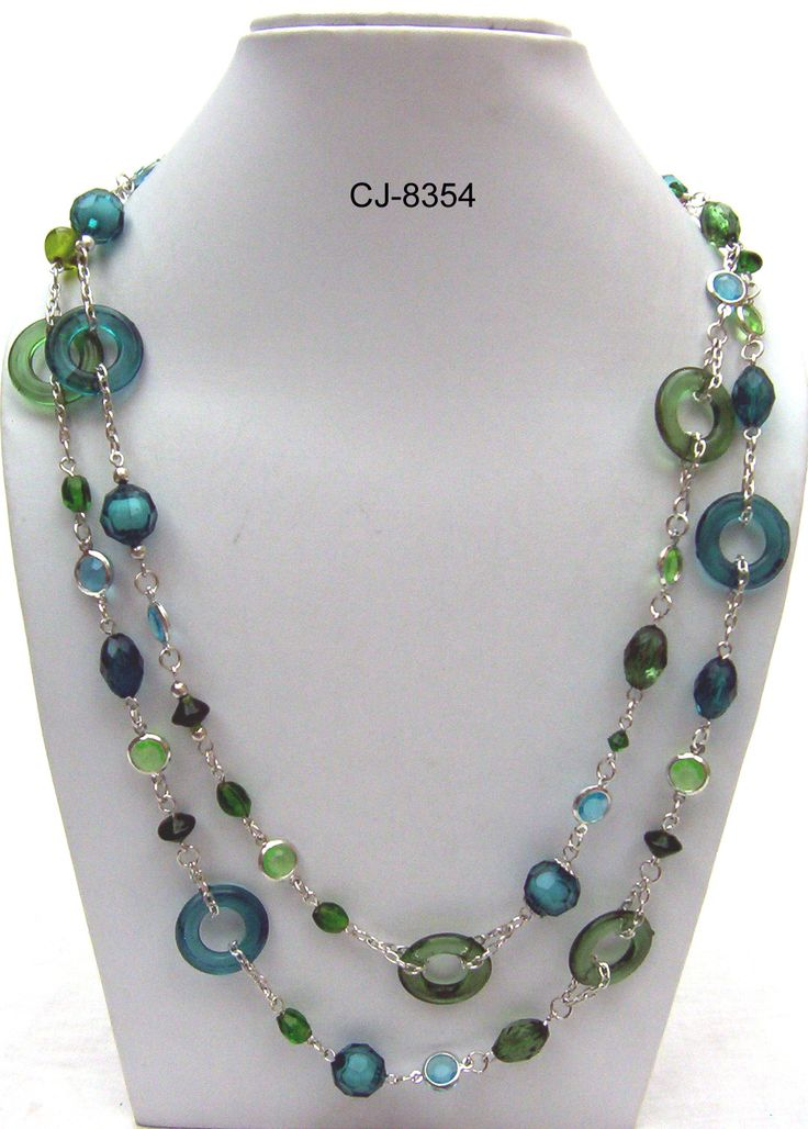 glass necklaces jewelry ideas