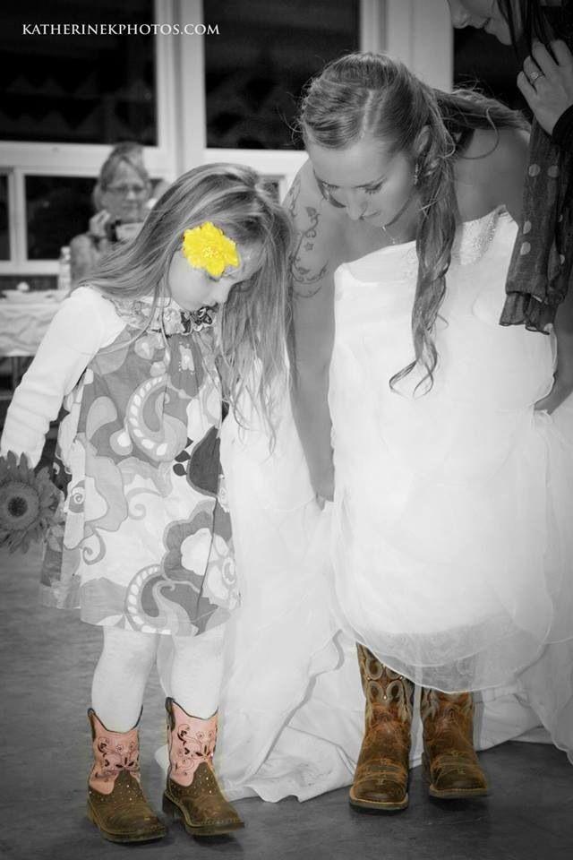 pamelahaberman wedding cowgirl style