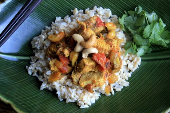 Cashew Chicken Curry!! Easy and delicious. Took minimal effort and was ...