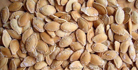 Roasted Pumpkin Seeds and Butternut Squash seeds. Butternut squash ...