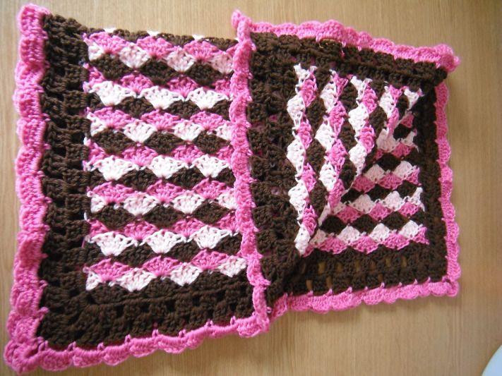 Free Crochet Pattern Pram Blanket : Sweet Shell blanket pattern Crochet Pinterest