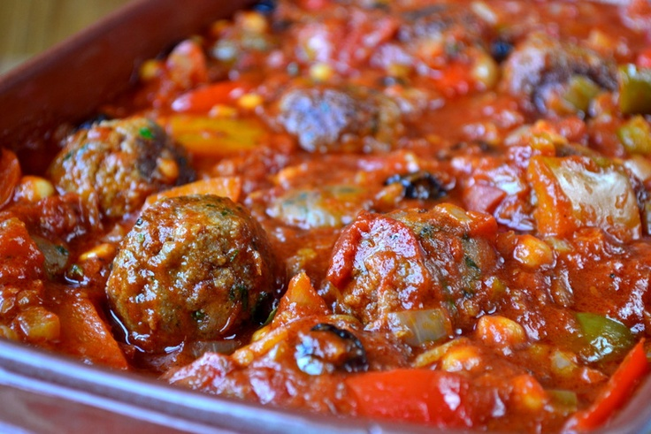 Moroccan Meatballs Recipe | Food | Pinterest