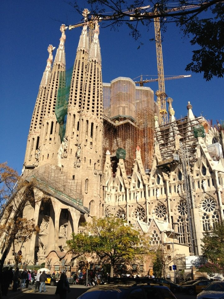 Beautiful Church In Barcelona Spain Favorite Places Spaces Pinterest