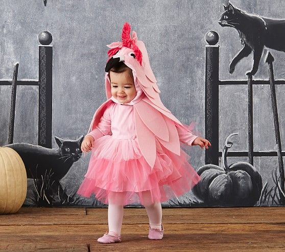 Flamingo costume kids