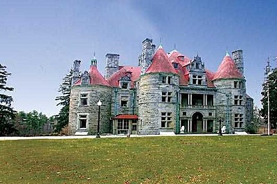 The Searles Hopkins Castle, built in 1888 #GreatBarrington #MA