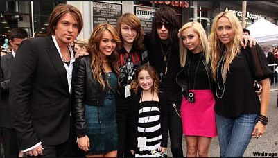 the whole cyrus family | People | Pinterest Whole Cyrus Family