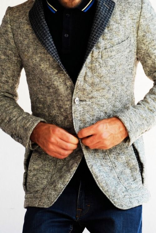 Like the texture of the jacket..