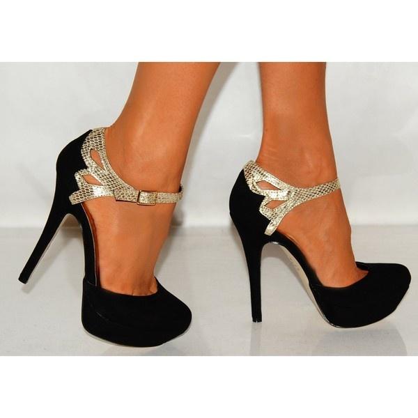 gold black shoes high heels gold sandals heels