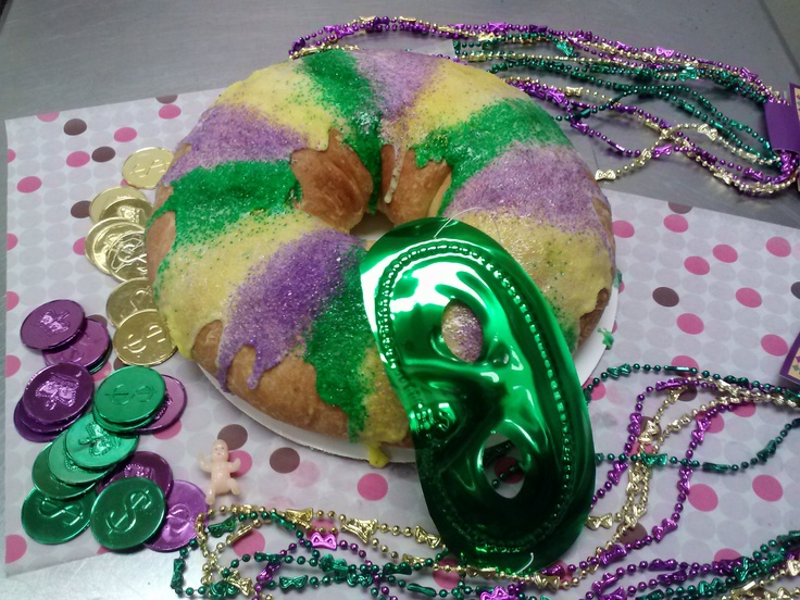 Mardi Gras King Cake Cupcakes Recipe — Dishmaps