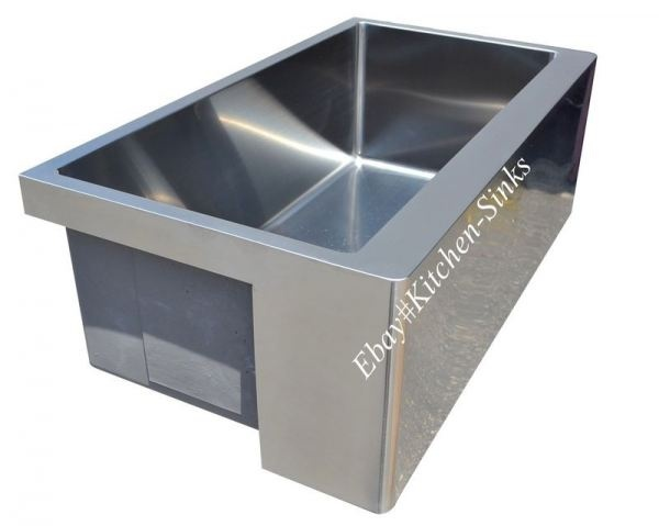 Stainless Apron Front Sink : 30