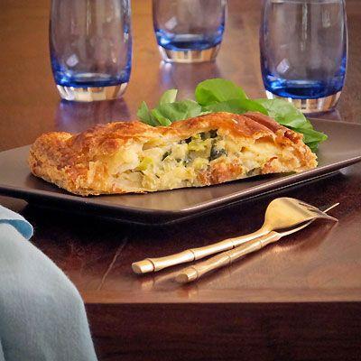 Savory Pies- Alsatian Potato Pie