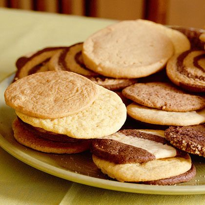 Lemon-Cornmeal Icebox Cookies by Cooking Light