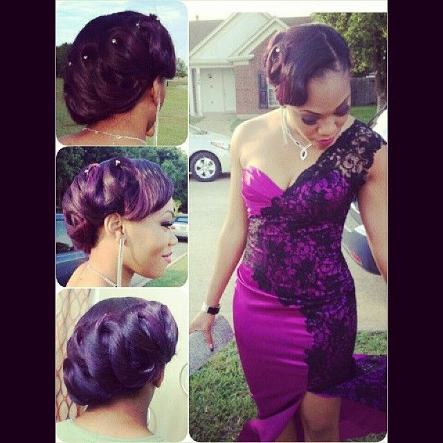 Sew In And Styled/Prom do | Mk Hair Dallas | Pinterest