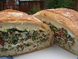 Olive and Jarlsberg Sandwich | olives | Pinterest
