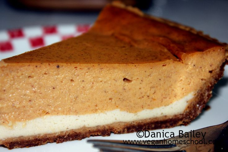 Vegan+Double+Layer+Pumpkin+Cheesecake+Recipe
