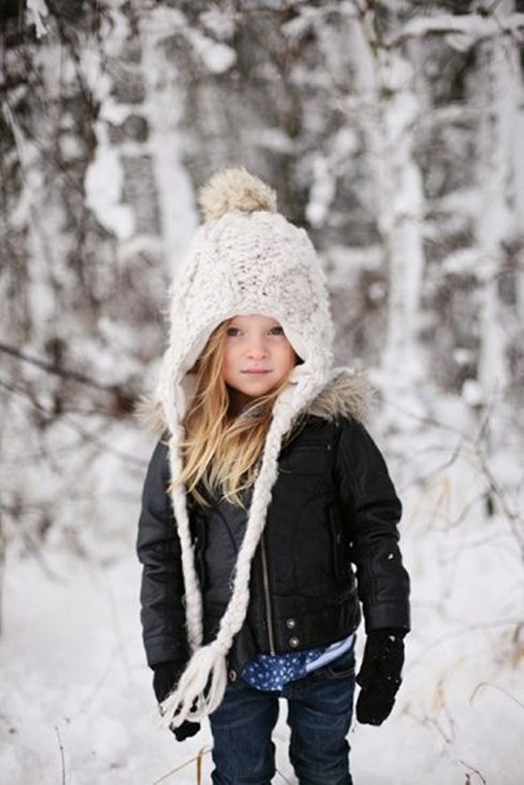 Little Girl Winter Fashion Kids Pinterest