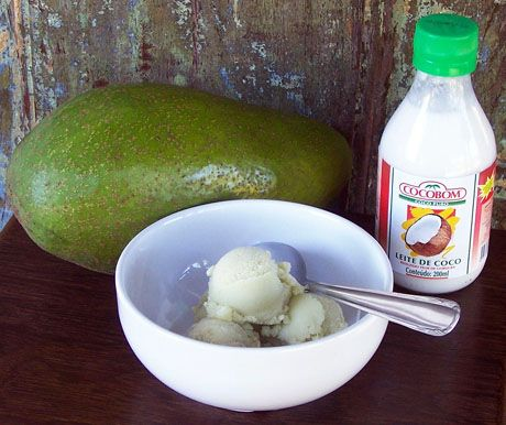 coconut milk and avocado makes ice cream? i dont know about how good ...
