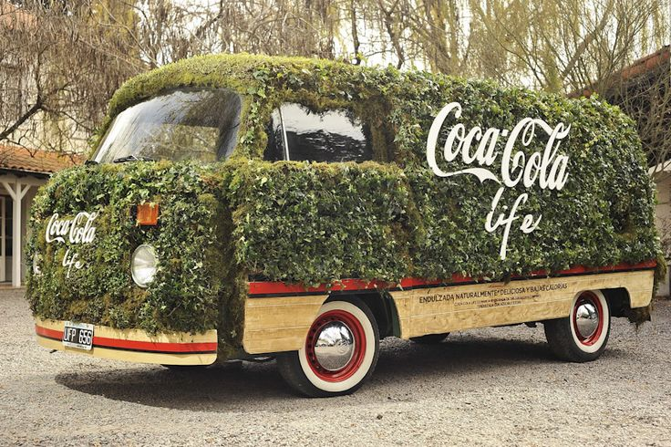 Coca-Cola Life - Sampling van - Activation