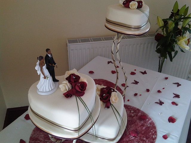 Heart Shaped Chocolate Cake Design : Heart shaped wedding cakes wedding cake ideas Pinterest
