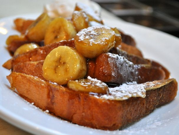 ... Bananas Foster French Toast at Brenda's French Soul Food, SF | Serious