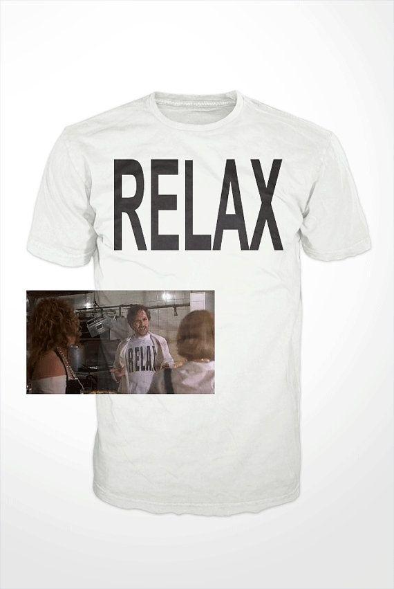RELAX TShirt The Wedding Singer Adam Sandler Drew by GetSnacks, $16.99 Adam Sandler