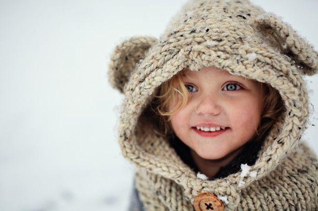 Knitted Bear Hat Pattern : knit bear cowl....love love the hat :-) Wonderful Kiddies things