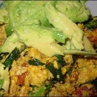 Recipe of the Week: 'Cheesy' Tofu Scramble With Avocado