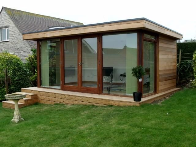 Garden rooms amp outdoor offices 2017 2018 best cars for Outdoor home office buildings