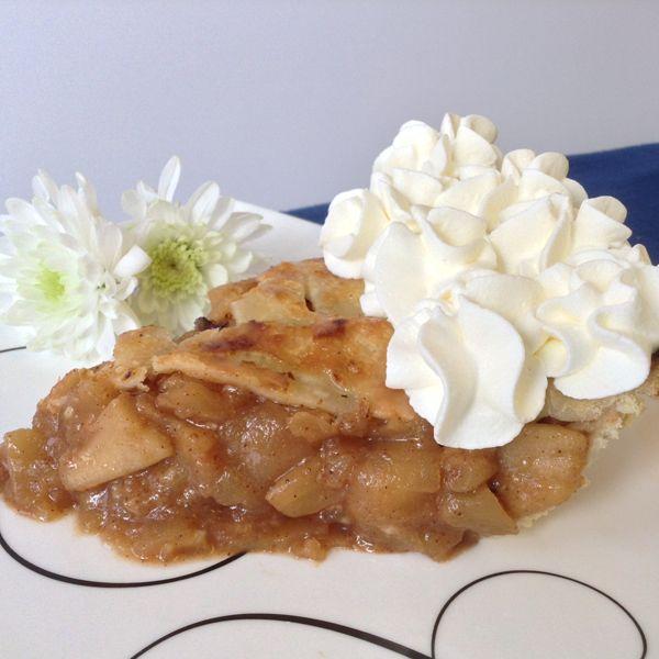 ... double crust, deep dish 9inch pie shell.. Double Crust Apple Pie