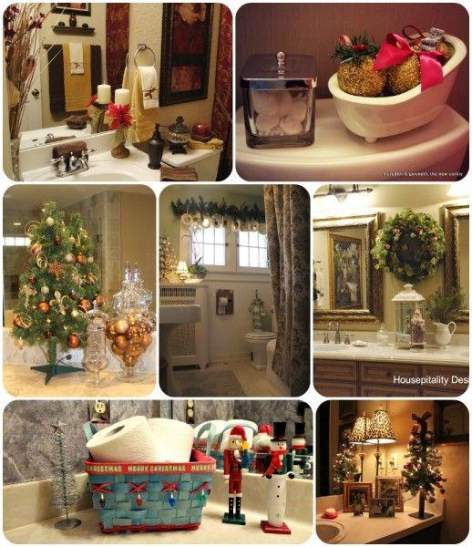 Christmas bathroom decor ideas home and decor pinterest for Bathroom decor for christmas