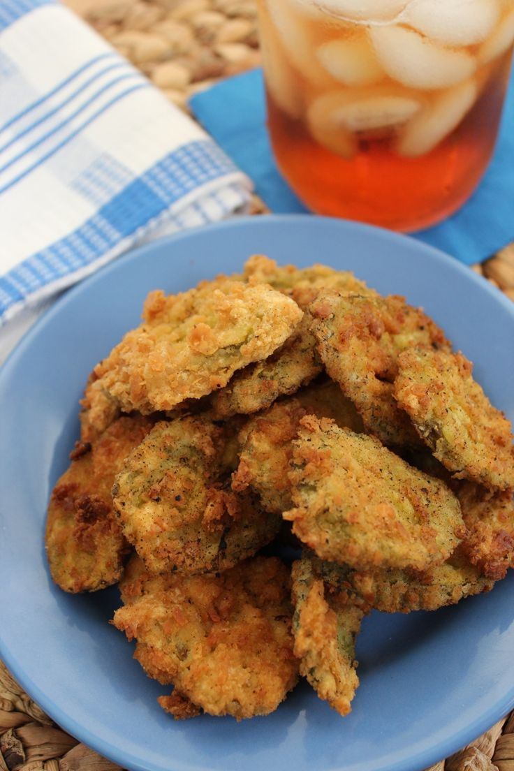 Fried Dill Pickles #recipes | Food | Pinterest