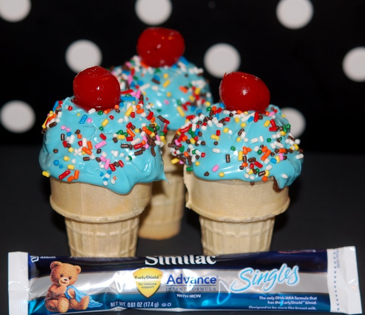 ice cream chocolate covered brownie ice cream cone cupcakes recipes ...