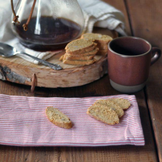 Saffron Biscotti Recipe — Dishmaps