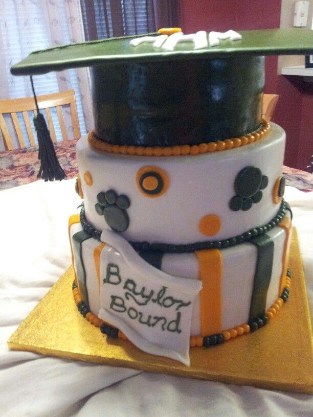 #Baylor University cake by Chayo Sanders