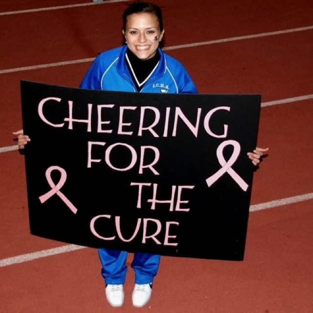 Cheering for the cure