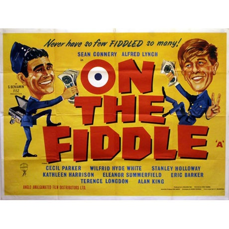 on the fiddle classic british comedy movie posters