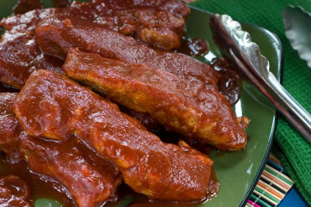 The Most Tender Country Style Honey BBQ Ribs | Recipe