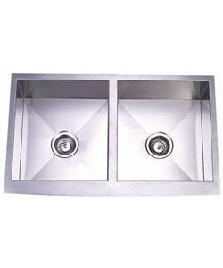 Farmhouse Sink Stainless Steel Undermount : Stainless steel undermount farmhouse kitchen sink $499.00