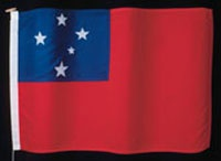 the samoan flag