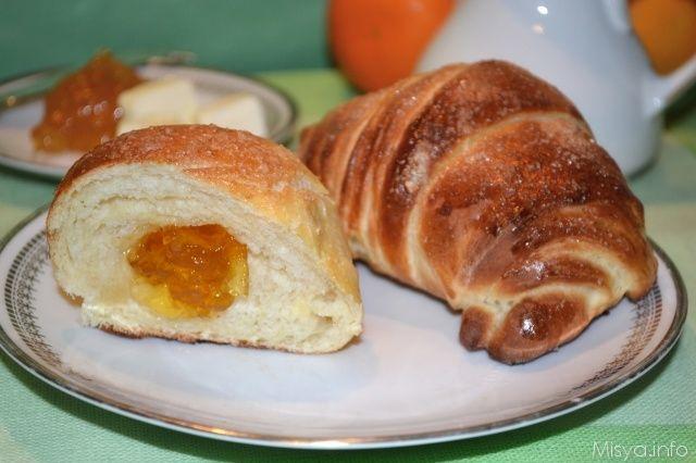 Cornetti con il metodo delle sfogliette | Pasta madre | Pinterest