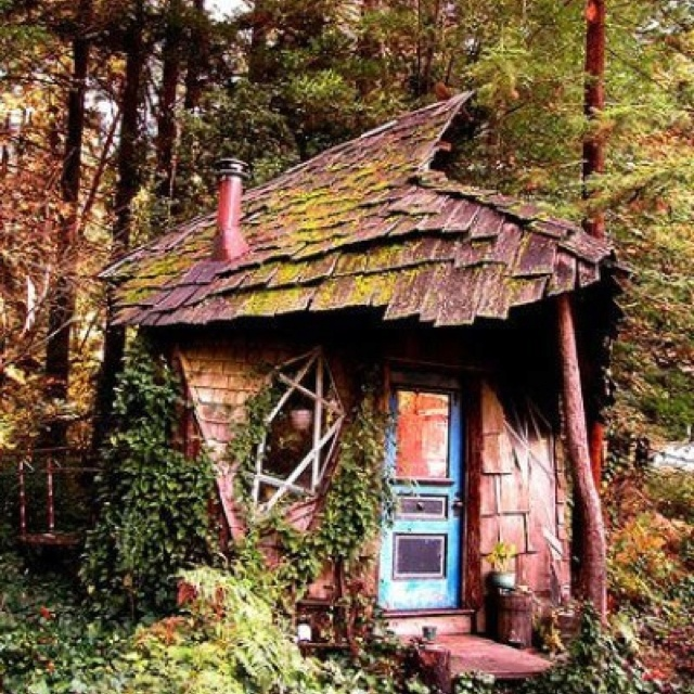 Whimsical cabins bing images for Whimsical cottage house plans