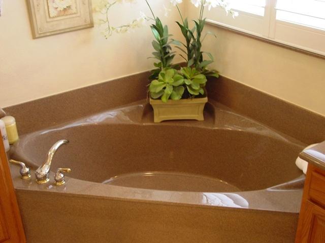 corner tubs garden hot tub pinterest
