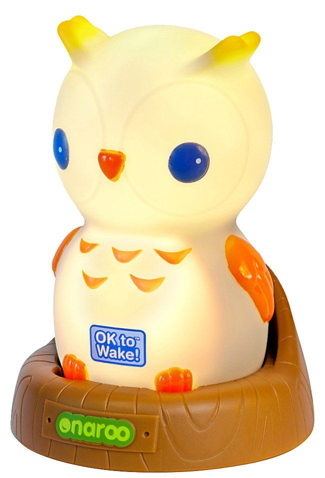 Onaroo Night Owl Portable Night-Light with OK to Wake! - Free Shipping