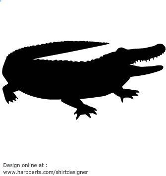 crocodile-silhouette-vector-graphics