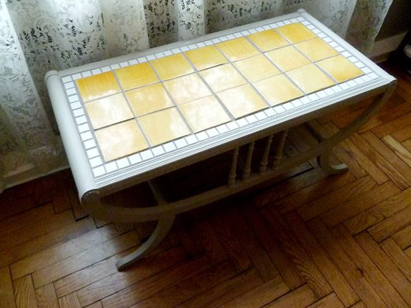 Tile Table Home Decor Pinterest