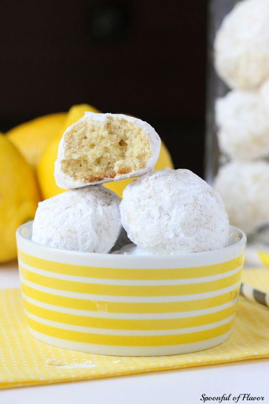 Lemon Tea Cookies - a delicate light lemon cookie perfect for spring ...