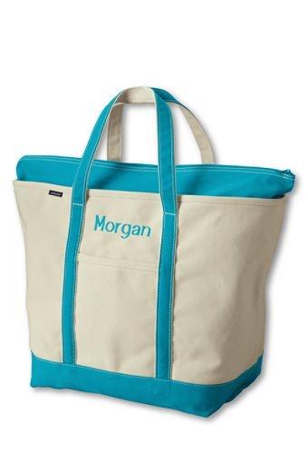 monogram tote bags  monogram bags lands end