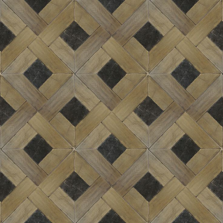 Traditional pattern. Zenati & Edri Parquet 19 Finish: Larochette with Belgian Blue Stone